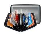 De Portefeuille van Aluma van de Vrouwen Houder van de bedrijfsVan de Creditcard