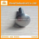 Tornillo principal redondo inoxidable del acero DIN603 M12