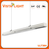130lm / W Warm White Strip Pendant LED Linear Light para Residencial