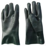 Грубый PVC отделки покрыл вкладыш Glove-5130 Knit шнура