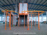 Macchina di rivestimento della polvere/linea di produzione rivestimento della polvere