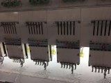 30のヘッド6カラー平らな刺繍機械