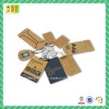 Paper Hangtag com Custome Printing