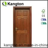 Carving de madeira de mogno da porta de entrada ( porta de madeira )