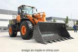 Alimentation d'usine Ensign Yx656 chargeuse à roues de 5 tonnes avec Joystick, A/C et 3,0 m3 le godet