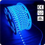 Tira flexible LED del poder más elevado SMD5050 RGB LED con 60 por el contador