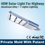 Luminária de jardim de rua solar LED de alta qualidade com Ce FCC Solar Lamps Company