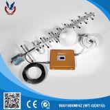 Répéteur 900/2100MHz GSM 3G Amplificateur de signal de téléphone cellulaire pour la construction