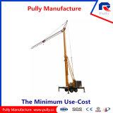 Grúa de levantamiento móvil plegable de la eficacia alta de la fabricación de la polea (MTC16080)