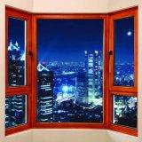 La vetratura doppia della migliore stoffa per tendine di alluminio della Cina Guangzhou ha tinto il prezzo di disegno della finestra di vetro