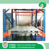Palete de metal galvanizado personalizada para armazenamento de depósito por Forkfit