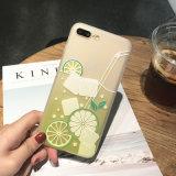 iPhoneのための携帯電話の花TPUの箱カバー7 7plus