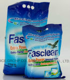 Pó detergente da potência extra de Fasclean, pó da lavanderia, pó de lavagem