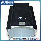 Perfil de Aluminio de Extrusión Anodizado Negro para Carcasa de Aluminio