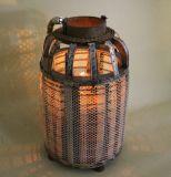 ガーゼのびん整形野生の産業様式の蝋燭のランタン