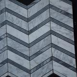 Azulejo de mosaico de la escala de pescados blancos de Binano Carrara del material de construcción