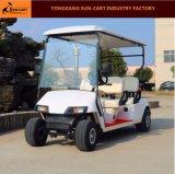Carro de golfe elétrico de Seater da boa qualidade 4 para o campo de golfe e Sightseeing