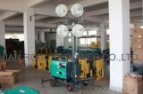 Прицеп Металлогалогенные лампы освещения дизельного двигателя в корпусе Tower