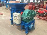 Máquina machacante plástica de la desfibradora del precio de fábrica de China, neumático inútil usado que recicla la lista de precios de la máquina