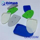 Suporte plástico da parede do telefone móvel de cor verde