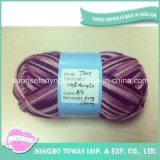Luvas de tecelagem de fios de fantasia Tricotar fios de acrílico