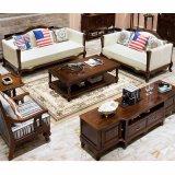 Mesa de centro longa de madeira do estilo americano para a mobília Home (AS840A)