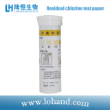 Papier réactif de chlore résiduel pour l'essai de piscine (LH1008)