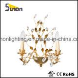 Lámpara de techo de cristal decorativo de la sala de estar