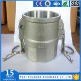Conetor rápido do acoplamento rápido da ferragem do aço inoxidável