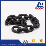 G80 catena di sollevamento verniciata ad alta resistenza del nero En818-2