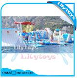 Parque de flutuação inflável adulto do Aqua da gota de /Floating do console para a venda