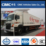 Hino 8X4 Refreezer 트럭 /Cargo 상자 밴 또는 밴 Truck