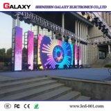 고쳐진 임대 이동할 수 있는 풀 컬러 RGB 실내 옥외 광고는 단계 사용을%s LED 위원회 단말 표시 스크린을 설치한다