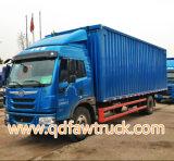 40-50 tonnes de 8X4 FAW Closed Van Truck