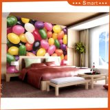 Peinture à l'huile colorée de décoration de la sucrerie 3D