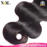 Trama desenhada dobro do cabelo de Remi do estoque do cabelo do vison (QB-MVRH-BW)