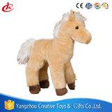 Het bevindende Stuk speelgoed van het Paard van de Jonge geitjes van de Gift van de Pluche van de Simulatie Zachte Gevulde
