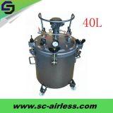 油性ペイントのための熱い販売の絵画ツール40L圧力ペンキタンク