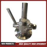 Dispositivo asséptico da espumação da cerveja da amostragem do aço inoxidável