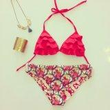 Lenceria Bikini traje de baño Traje de baño de desgaste de la playa de El Triángulo de señora traje de baño