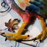 Arte de la estatuilla del metal del gallo del martillo para Homeware