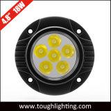 """4.5 """" 넘치는 마운트를 가진 18W 둥근 Offroad LED 트럭 일 빛"""