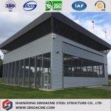 Construction de structure métallique pour le parking avec le modèle