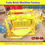 Máquina concreta hidráulica móvel pequena do tijolo da fábrica da maquinaria de Fuda