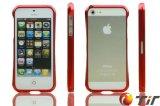 La cubierta del teléfono de parachoques de aluminio para el iPhone 5 (iP5-Paragolpes0003)