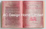 Art. van de Muur van de Vorm van het Boek van de Literatuur Pu Leather/MDF van het detail het Houten