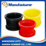 Peças coloridas personalizadas fonte do poliuretano da fábrica