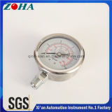 満ちているすべてのSsの圧力計の表示器の高品質のオイル