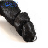 느슨한 컬 100% 처리되지 않은 Remy 머리 연장을 길쌈하는 Malaysian Virgin 머리