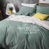 Lenzuolo del coperchio di disegno, lenzuolo di bambù del cotone della vite, filetto del cotone 300